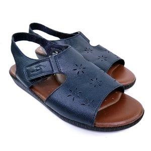 Dr Scholl's Double Air Pillo Leather Sandals